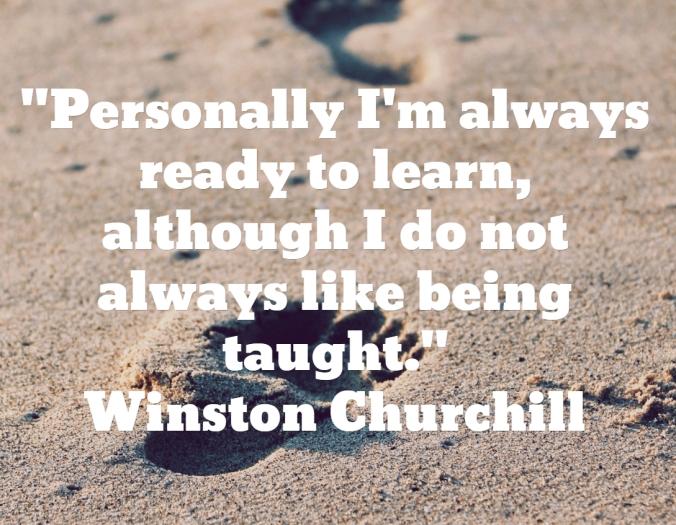 Churchill taught
