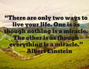 Einstein miracle