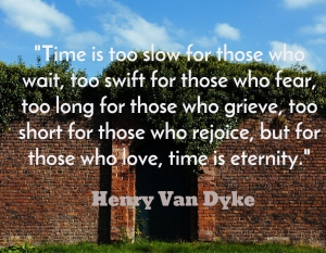 time and love
